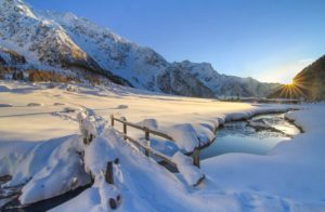 Inverno alle Baite Macoggia in Val di Rezzalo