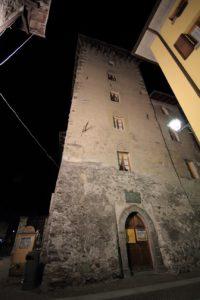 Torre Alberti, sede del Punto Informazioni di Bormio