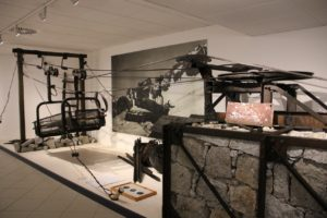 Teleferica. Museo Guerra Bianca