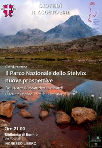 Conferenza Parco Stelvio