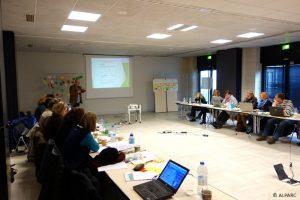 Il workshop iniziale del progetto tenutosi a Chambéry nei giorni 18 e 19 gennaio.
