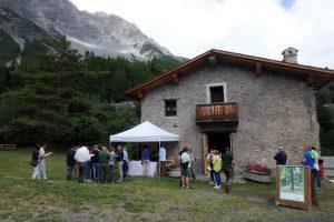 Il convegno sulla mobilità dolce si è svolto presso la vecchia Ferriera Corneliani di Valdidentro