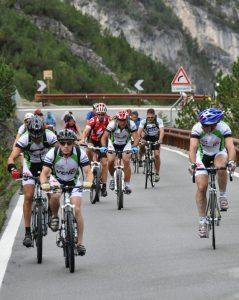 Durante la Scalata Cima Coppi le strade di accesso al Passo dello Stelvio sono a completa disposizione degli sportivi